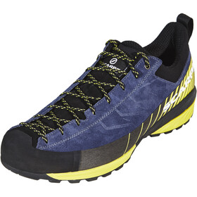 Scarpa Mescalito Shoes Men blue cosmo/lime fluo